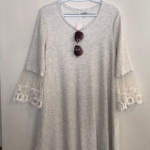 Francesca's Lacy Cuff Dress
